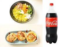 Poha With 600 ML Coke